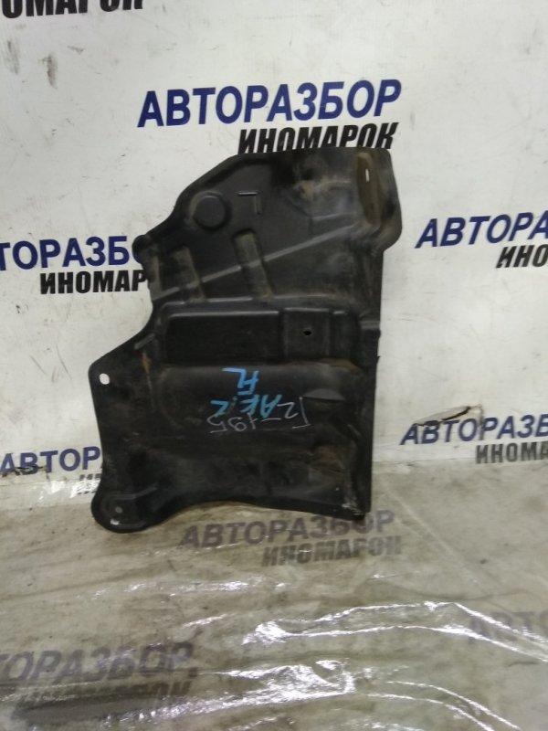 Защита двигателя Nissan Cube Cubic BGZ11 передняя левая нижняя (б/у)