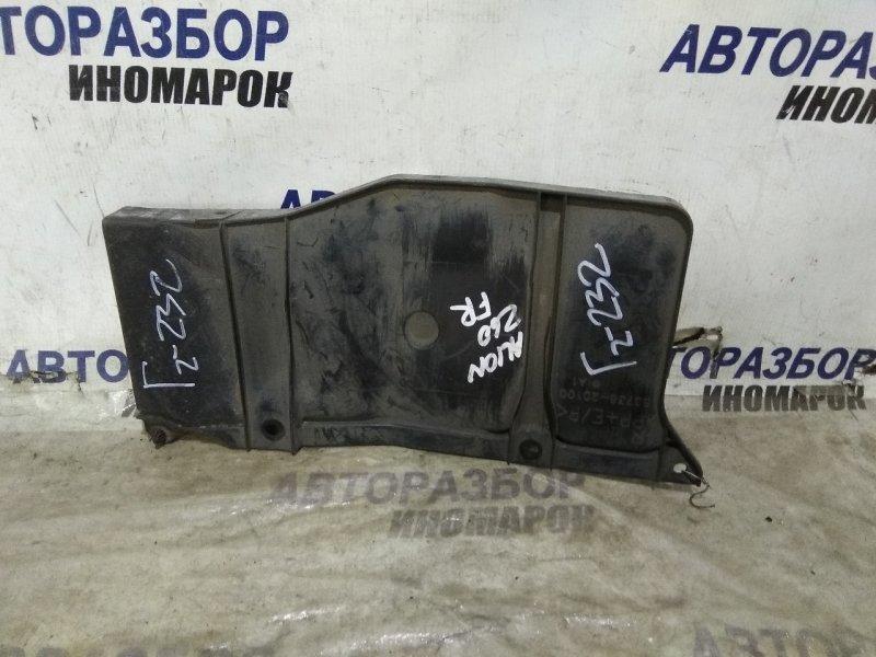 Защита двигателя Toyota Allion ZT260 передняя правая нижняя (б/у)