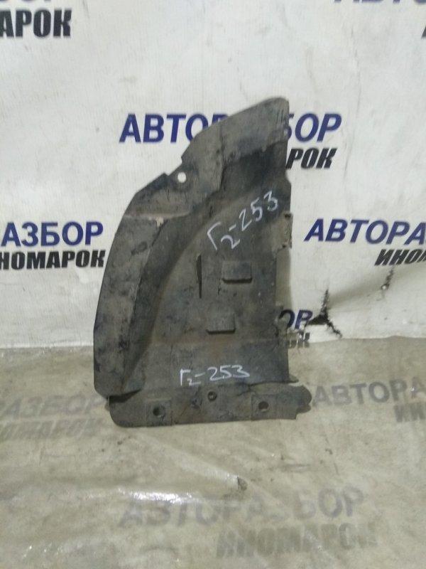Пыльник бампера Chevrolet Lanos T100 передний правый нижний (б/у)