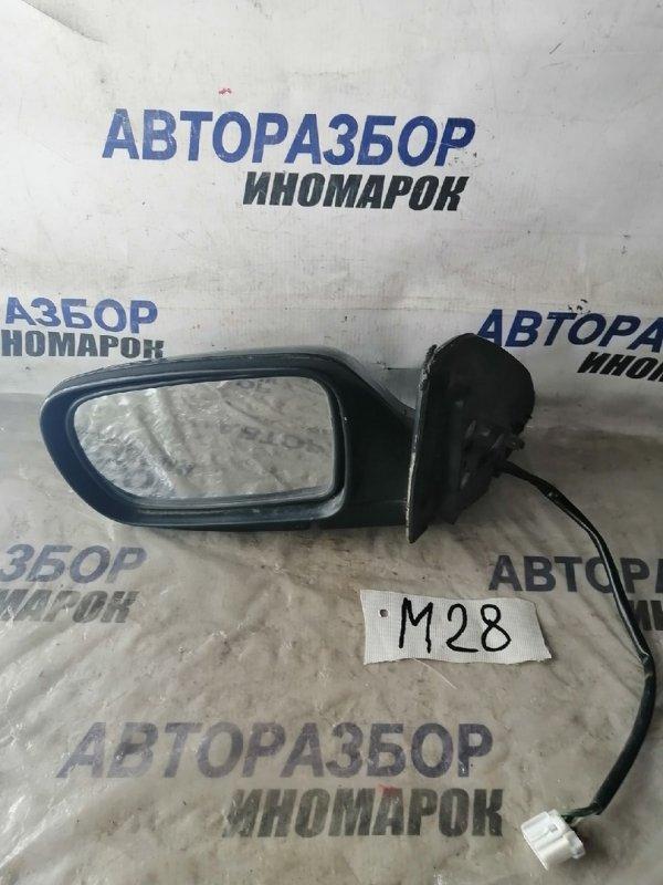 Зеркало левое Mazda Familia BHA5P переднее левое (б/у)