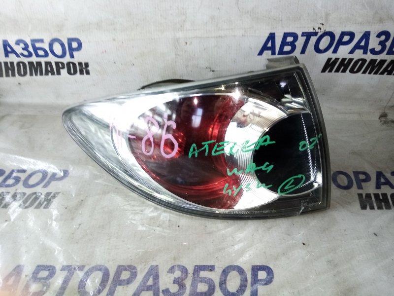 Фонарь задний левый Mazda Atenza GY3W задний левый (б/у)