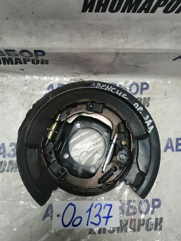Механизм стояночного тормоза задний правый Toyota Avensis ADT250 задний правый (б/у)