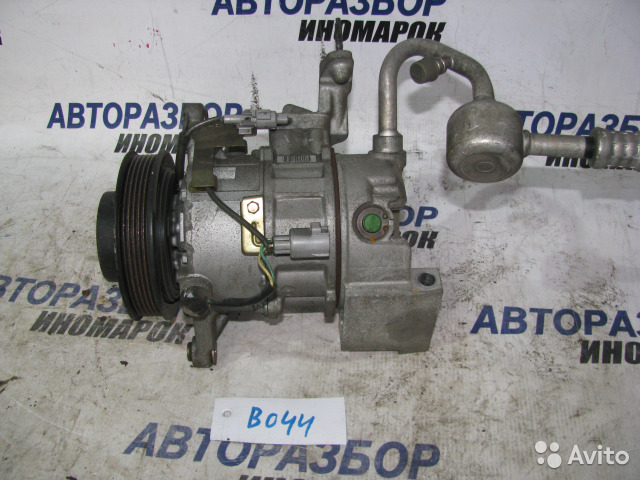 Компрессор кондиционера Toyota Mark Ii Wagon Blit JZX110 1JZFSE передний (б/у)