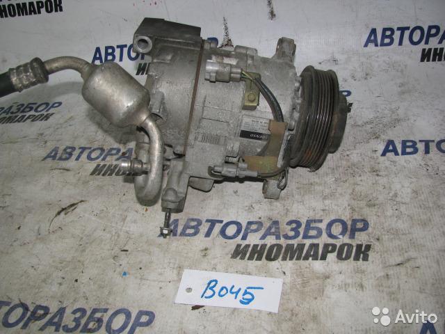 Компрессор кондиционера Toyota Is200 JZS171 1JZFSE передний (б/у)