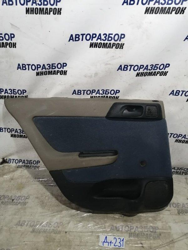 Обшивка двери задней левой Chevrolet Viva F69 задняя левая (б/у)