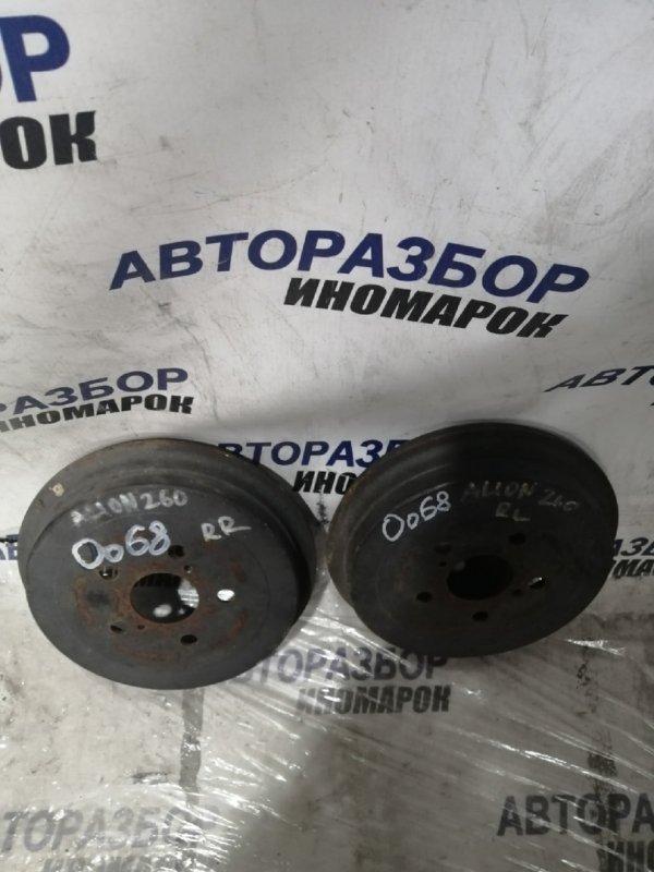 Тормозной барабан Toyota Allion NZT260 задний нижний (б/у)
