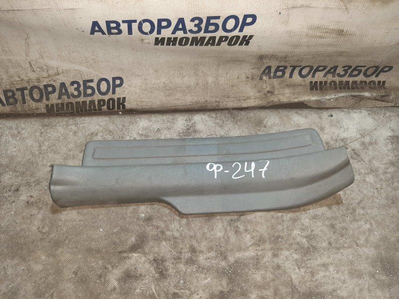 Накладка порога внутренняя правая Toyota Corolla Axio CE120 задняя правая нижняя (б/у)