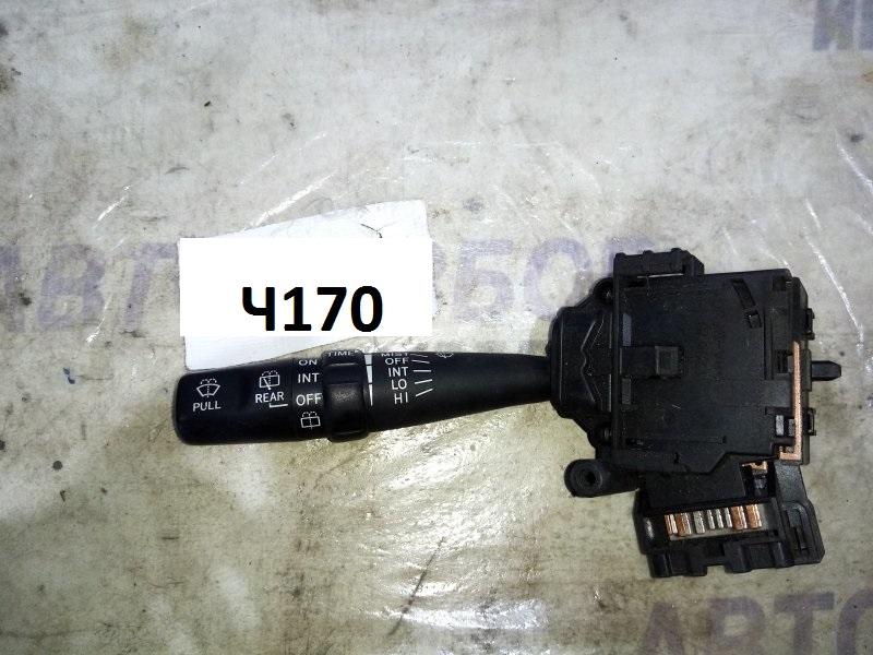 Переключатель стеклоочистителей Toyota Avensis Verso AZR60G передний правый (б/у)