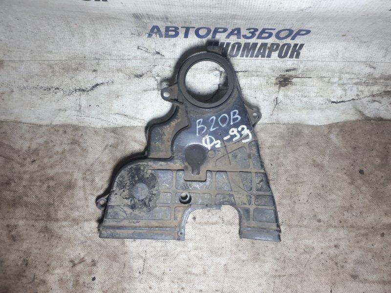 Кожух ремня грм Honda Cr-X RH1 B16A6 передний нижний (б/у)