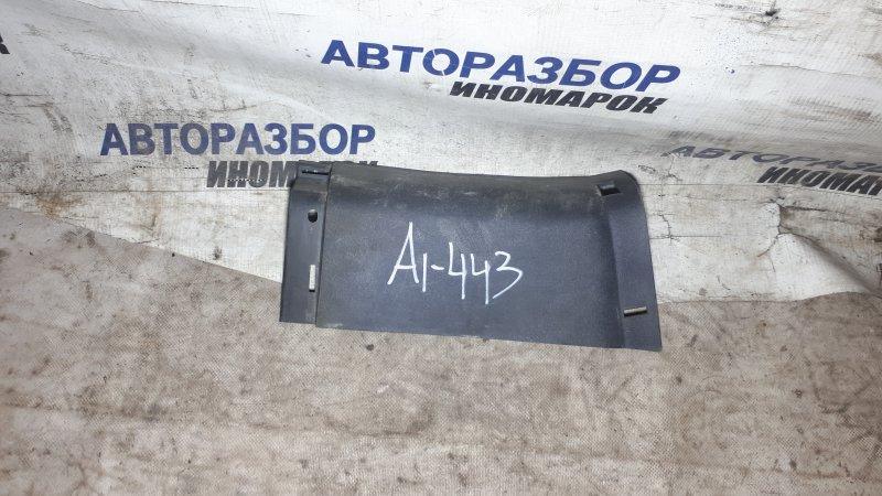 Накладка порога правая Honda Fit GD3 задняя правая нижняя (б/у)