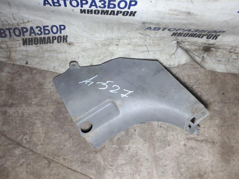Накладка на порог Hyundai Santa Fe CM передняя левая нижняя (б/у)