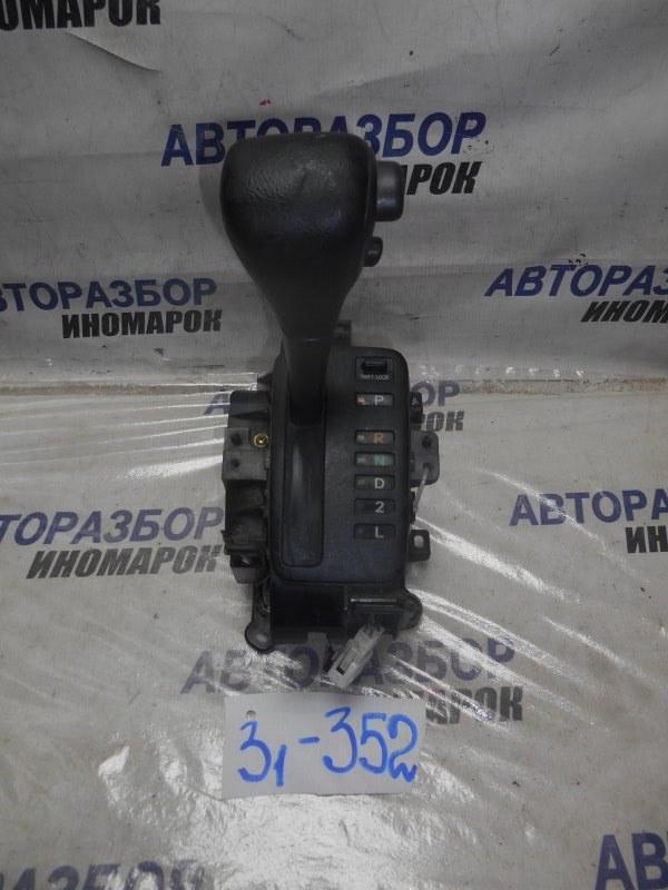 Селектор акпп Toyota Allex CDE120 передний нижний (б/у)
