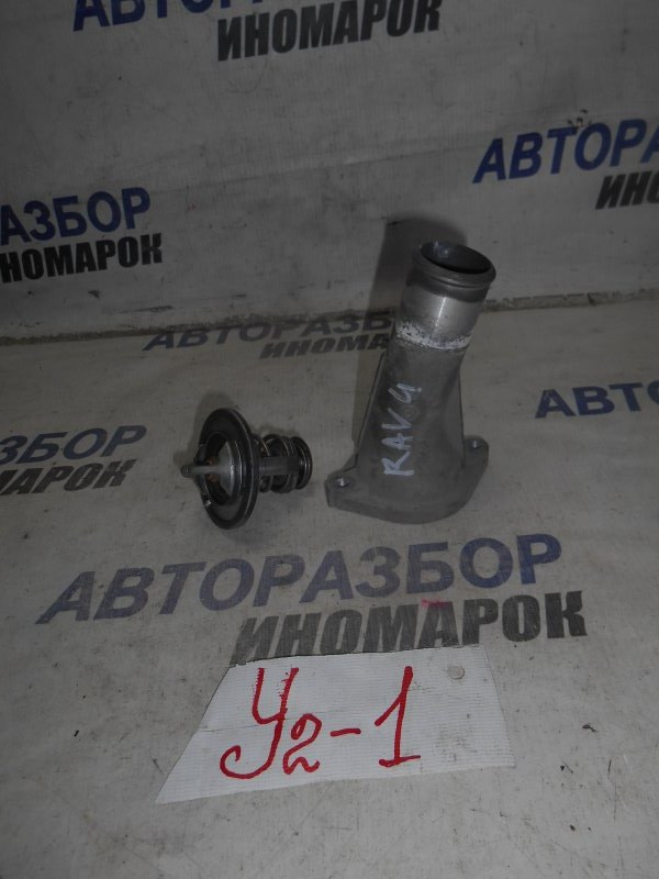 Корпус термостата Toyota Rav4 ACV30 2AZFE передний (б/у)