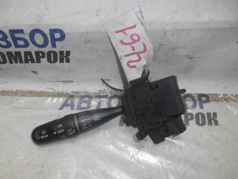 Переключатель стеклоочистителей Toyota Funcargo NCP30 передний левый (б/у)