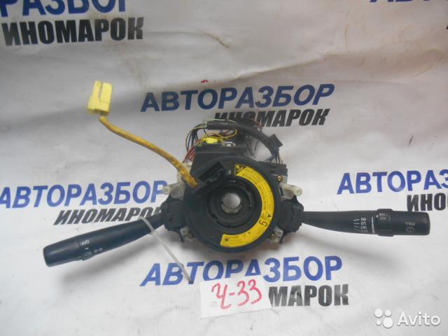 Блок подрулевых переключателей Toyota Carina AT210 передний правый (б/у)