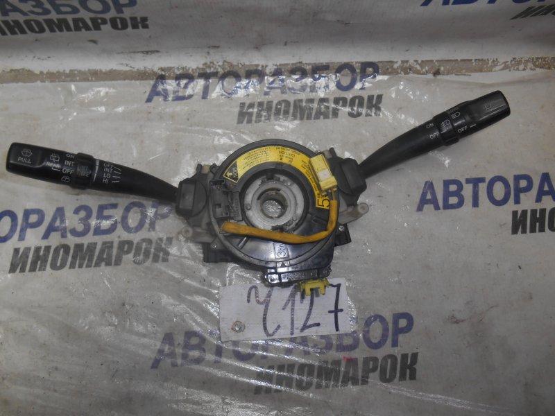 Блок подрулевых переключателей Toyota Caldina AT210 передний правый верхний (б/у)