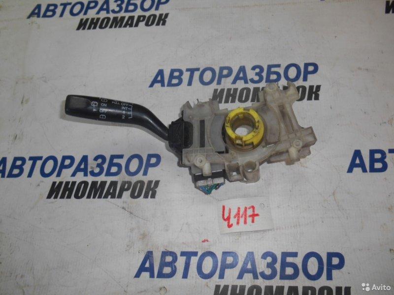 Переключатель стеклоочистителей Mazda Demio DW3W передний правый верхний (б/у)