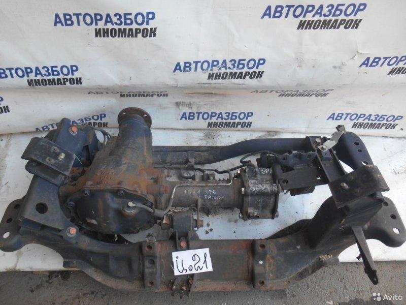 Балка под двс Mitsubishi Montero H65W передняя нижняя (б/у)
