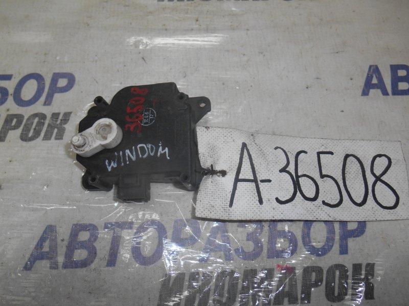 Сервопривод заслонок печки Toyota Camry ACV30 передний (б/у)