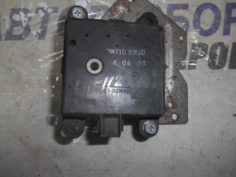 Сервопривод заслонок печки Nissan Avenir PNW11 передний (б/у)