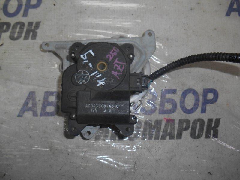 Сервопривод заслонок печки Toyota Rav4 AUR10 передний (б/у)