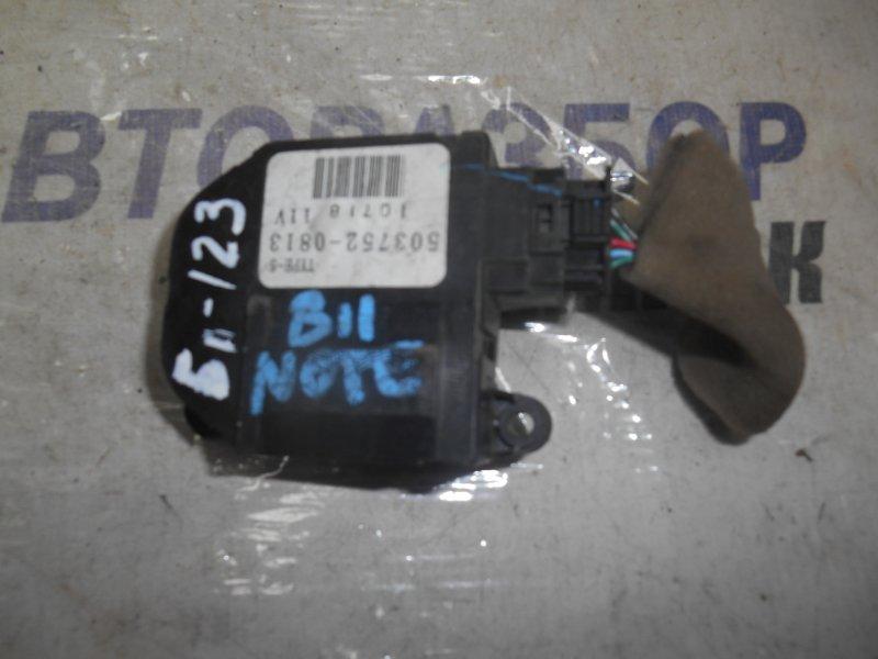 Сервопривод заслонок печки Nissan Ad C11 передний (б/у)