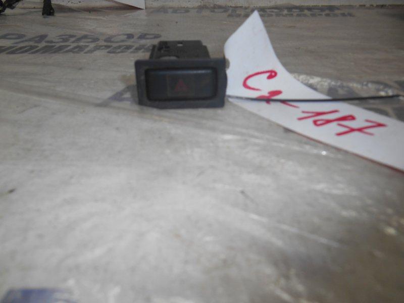 Кнопка аварийной сигнализации Toyota Caldina CT190 передняя (б/у)