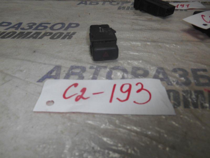 Кнопка аварийной сигнализации Toyota Caldina CXM10 передняя (б/у)