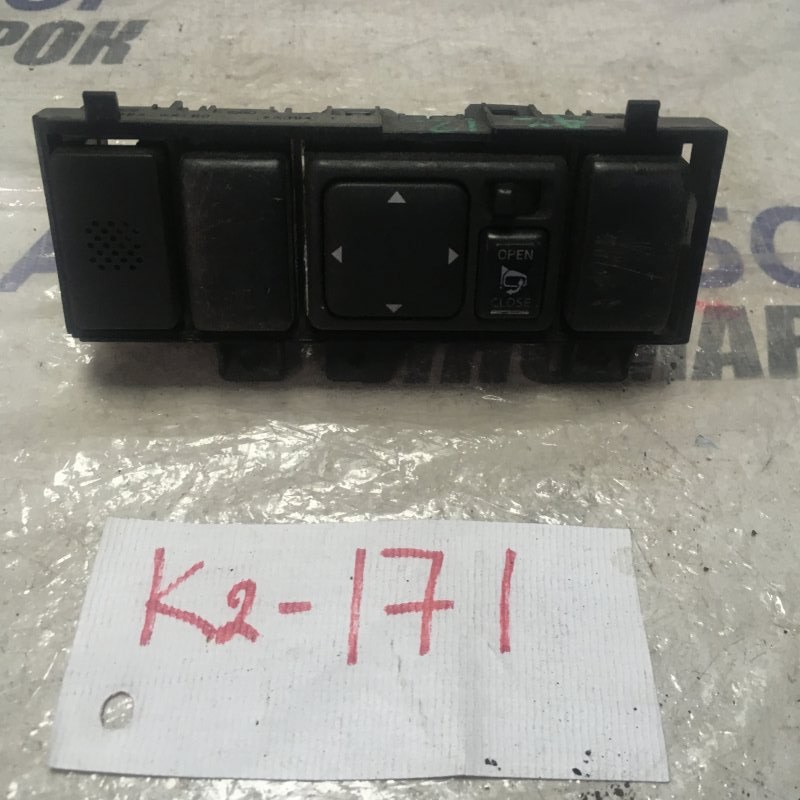 Блок управления зеркалами Nissan March AK12 передний правый (б/у)