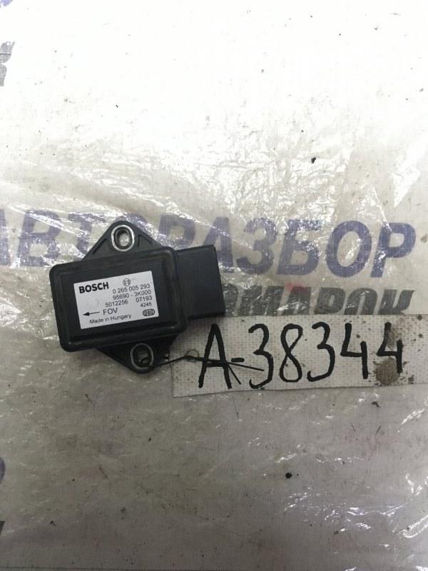 Датчик курсовой устойчивости Hyundai Azera CM (б/у)