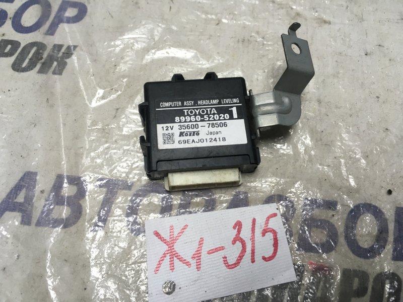 Блок управления фарами Toyota Ist NCP60 (б/у)