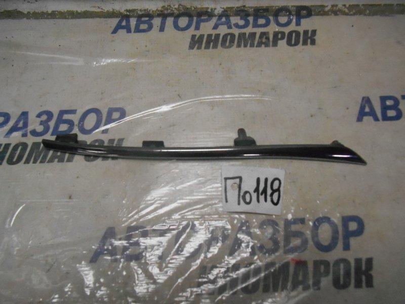 Молдинг решетки радиатора Toyota Rav4 ACA31W передний нижний (б/у)