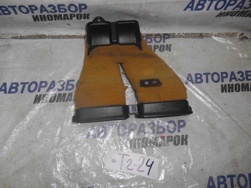 Воздуховод отопителя салона Toyota Avensis ADT250 передний верхний (б/у)