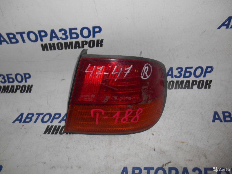 Фонарь задний правый Nissan Primera FHP11 задний правый (б/у)