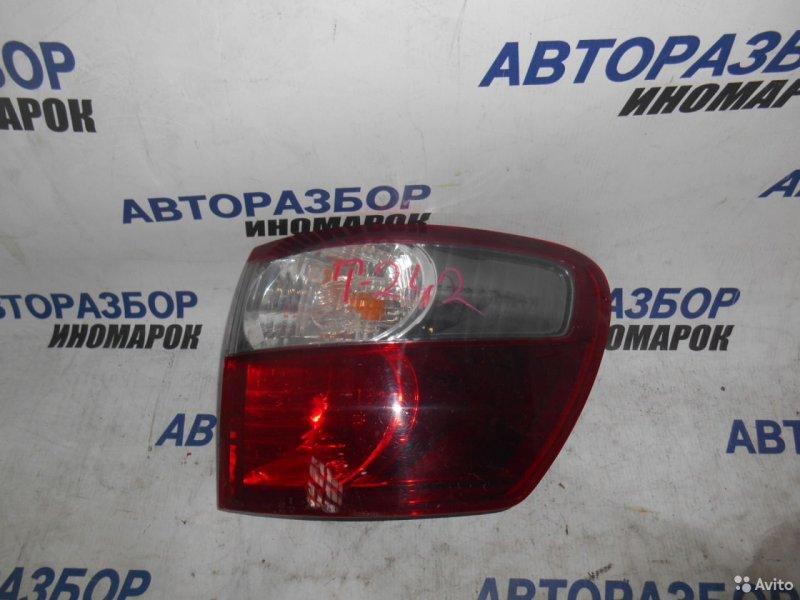 Фонарь задний правый Toyota Avensis Verso ACM20 задний правый (б/у)