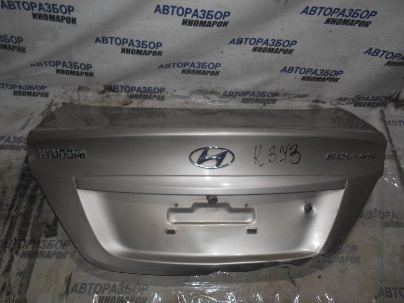 Крышка багажника Hyundai Solaris RB задняя верхняя (б/у)