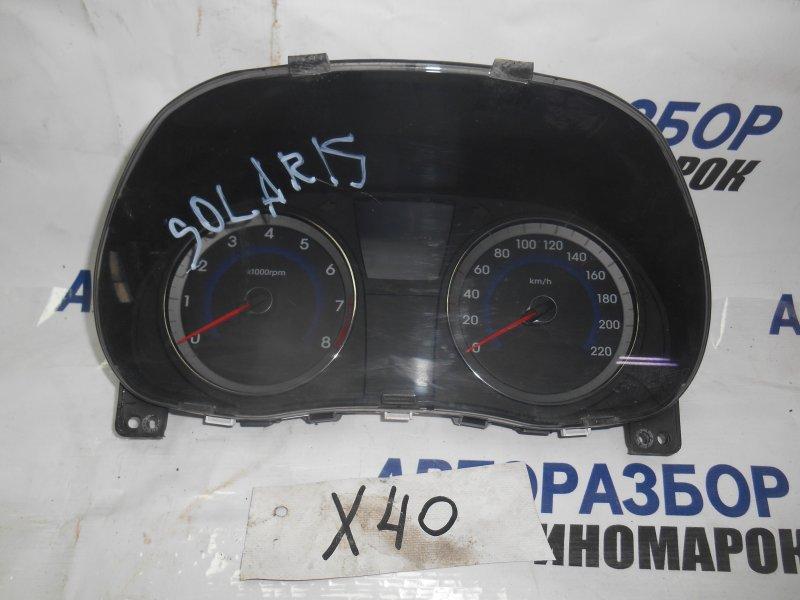Панель приборов Hyundai Solaris RB задний (б/у)