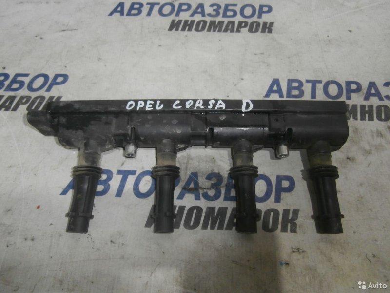 Катушка зажигания Chevrolet Astra P10 A12XER A12XEL A14NET A14NEL (б/у)