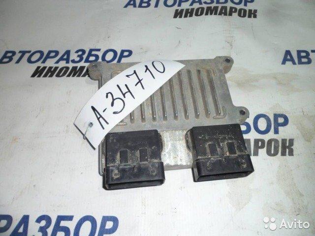 Блок управления двс Hyundai Santa Fe CM G6EA передний (б/у)