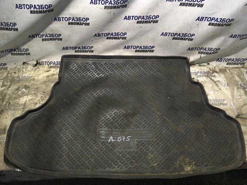 Коврик багажника Hyundai Accent RB G4FA задний верхний (б/у)