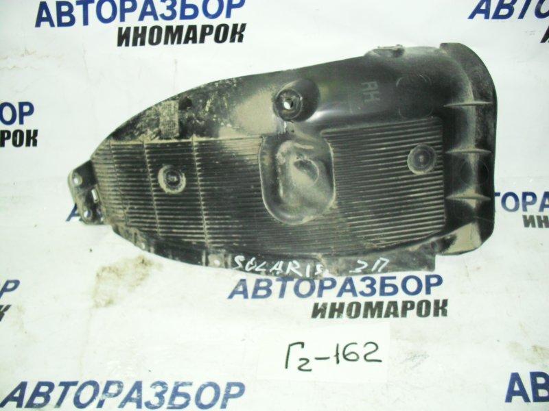 Подкрылок задний правый Hyundai Solaris RB G4FA задний правый нижний (б/у)