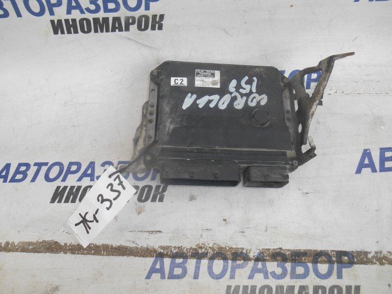 Блок управления двс Toyota Corolla ZRE151 1ZRFE 2007 передний нижний (б/у)