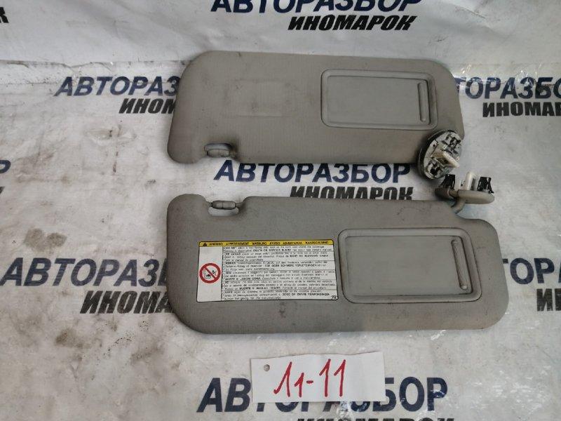 Козырек солнцезащитный Toyota Corolla ADE150 верхний (б/у)