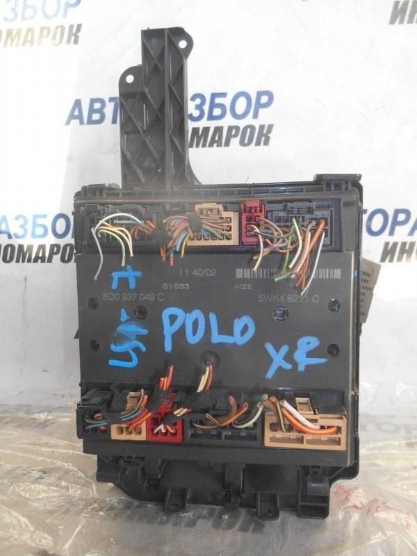Блок предохранителей, реле Volkswagen Polo 9J2 AMF передний (б/у)