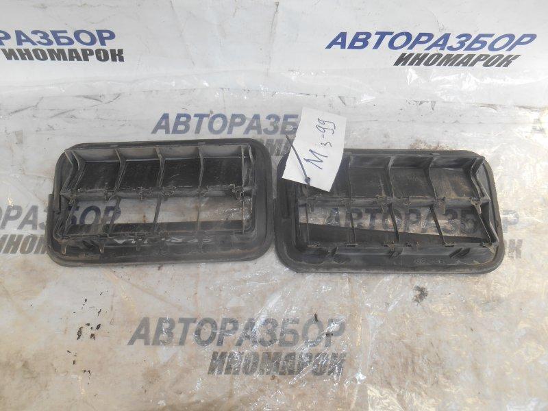 Решетка вентиляционная Toyota Allion NZT260 1ADFTV задняя нижняя (б/у)
