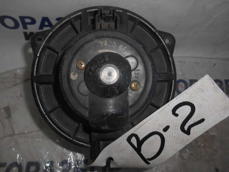 Мотор печки Toyota Echo NCP10 передний верхний (б/у)