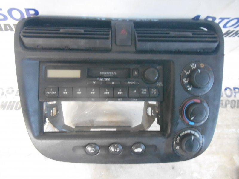 Блок управления климат-контролем Honda Civic Ferio ES1 передний (б/у)