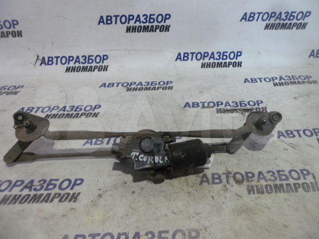 Трапеция дворников (мотор стеклоочистителя) Toyota Allex NZE121 передняя (б/у)