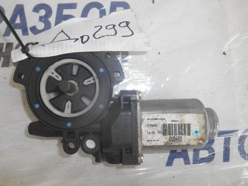 Моторчик стеклоподъемника Hyundai Santa Fe CM задний правый (б/у)