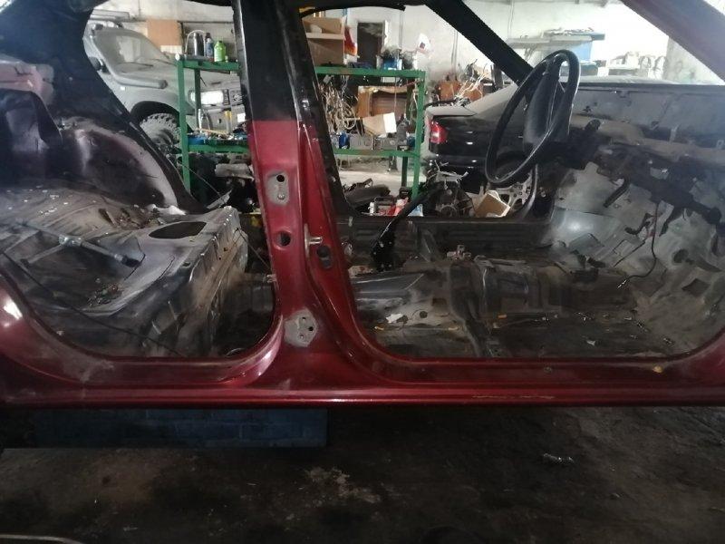 Порог со стойкой правый Toyota Corsa EL41 5EFE правый (б/у)